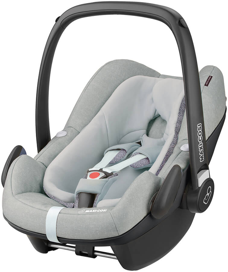 maxi cosi pebble plus grey i size infant carrier 2018. Black Bedroom Furniture Sets. Home Design Ideas