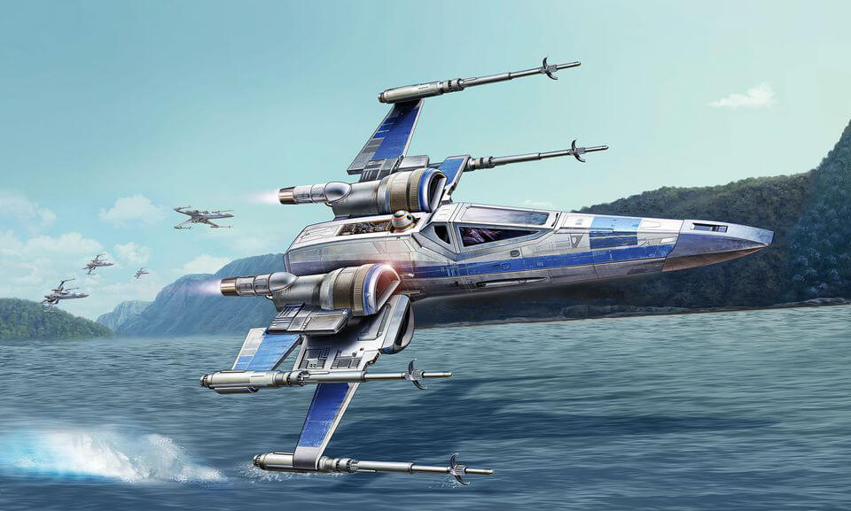 Revell Star Wars Resistance X-wing Fighter Space ship