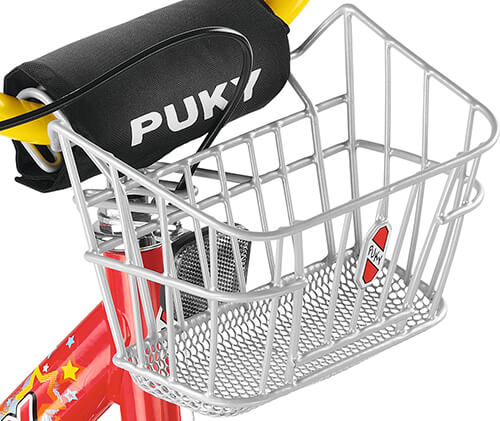 Puky Lk Z Handlebar Basket For Bicycles Silver 9129