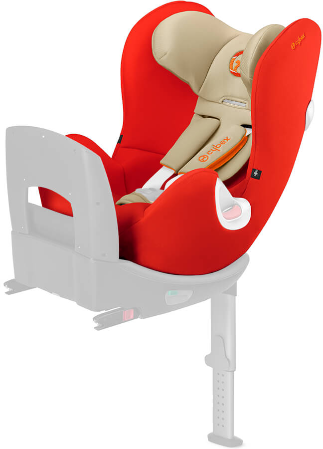 cybex sirona seat cover autumn gold burnt red. Black Bedroom Furniture Sets. Home Design Ideas