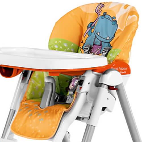 Pleasing Peg Perego Cover Prima Pappa Diener Hippo Arancio Machost Co Dining Chair Design Ideas Machostcouk