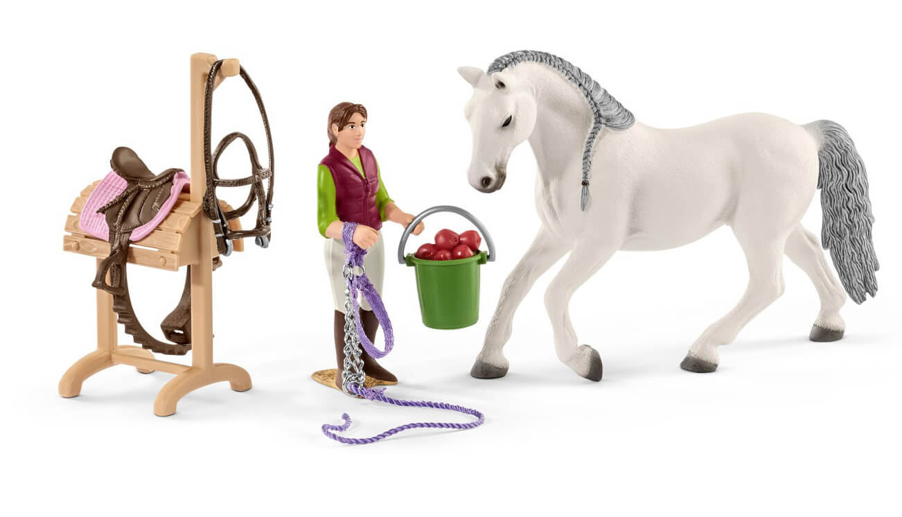 Schleich Riding School With Horses And Riders