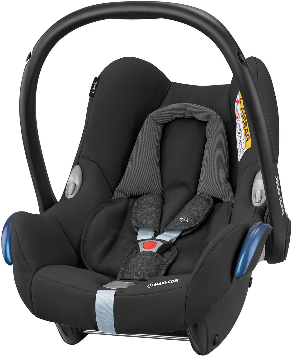 maxi cosi cabriofix nomad black 2018 infant carrier. Black Bedroom Furniture Sets. Home Design Ideas