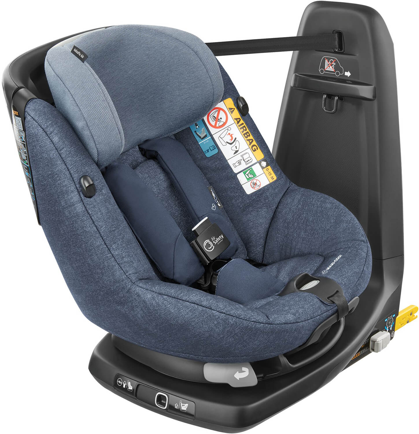 maxi cosi axissfix air nomad blue kindersitz mit airbag. Black Bedroom Furniture Sets. Home Design Ideas