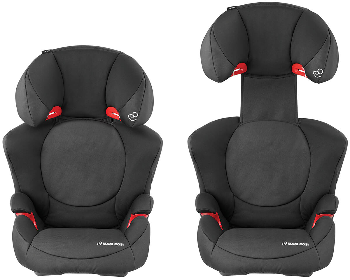 maxi cosi rodi xp fix night black kindersitz mit isofix. Black Bedroom Furniture Sets. Home Design Ideas