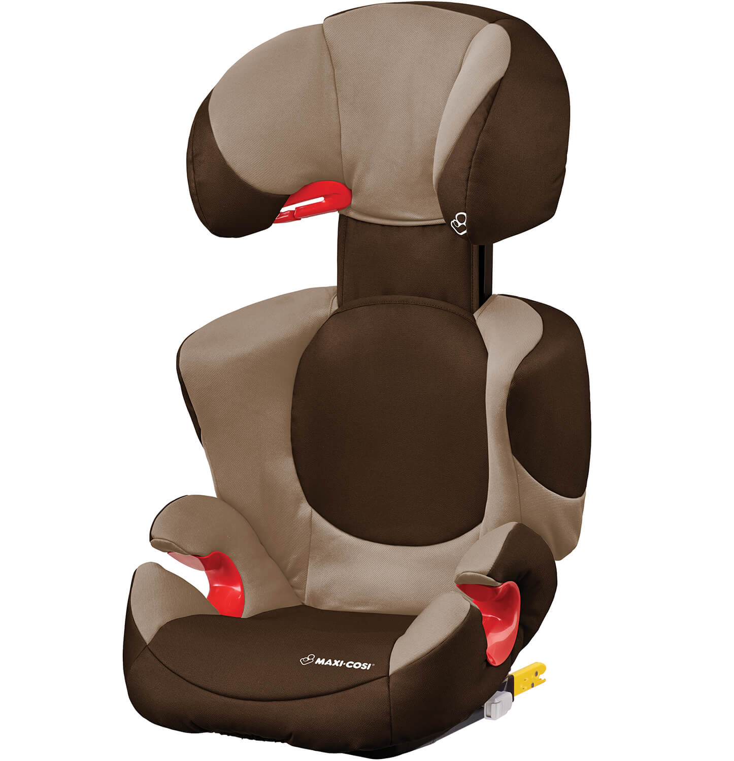 maxi cosi rodi xp fix hazelnut brown child seat with isofix. Black Bedroom Furniture Sets. Home Design Ideas