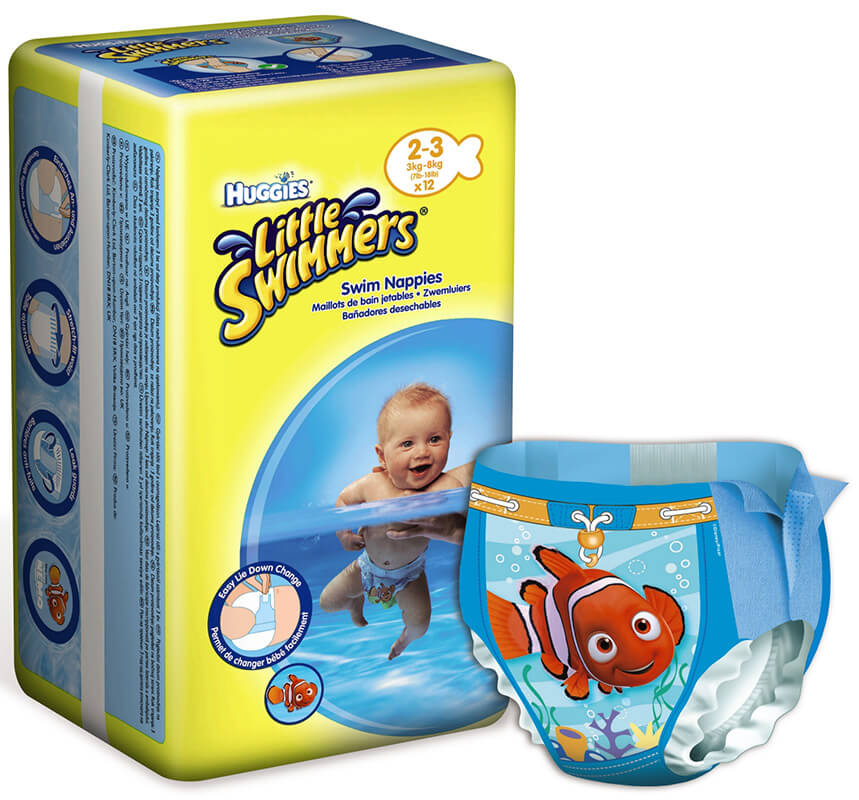 Huggies Little Swimmers Swim Diapers Si 2 3 3 8 Kg