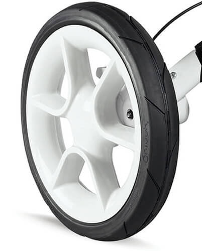 Quinny Moodd Air Chamber Rear Wheel White Right