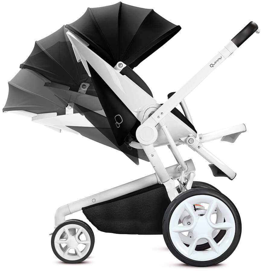 Quinny moodd black irony stroller from the collection 2018 for Housse quinny moodd