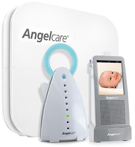 angelcare ac1100 baby monitor with video surveillance and touch screen. Black Bedroom Furniture Sets. Home Design Ideas