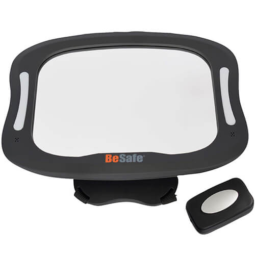 Besafe Xl Baby Mirror With Led Light