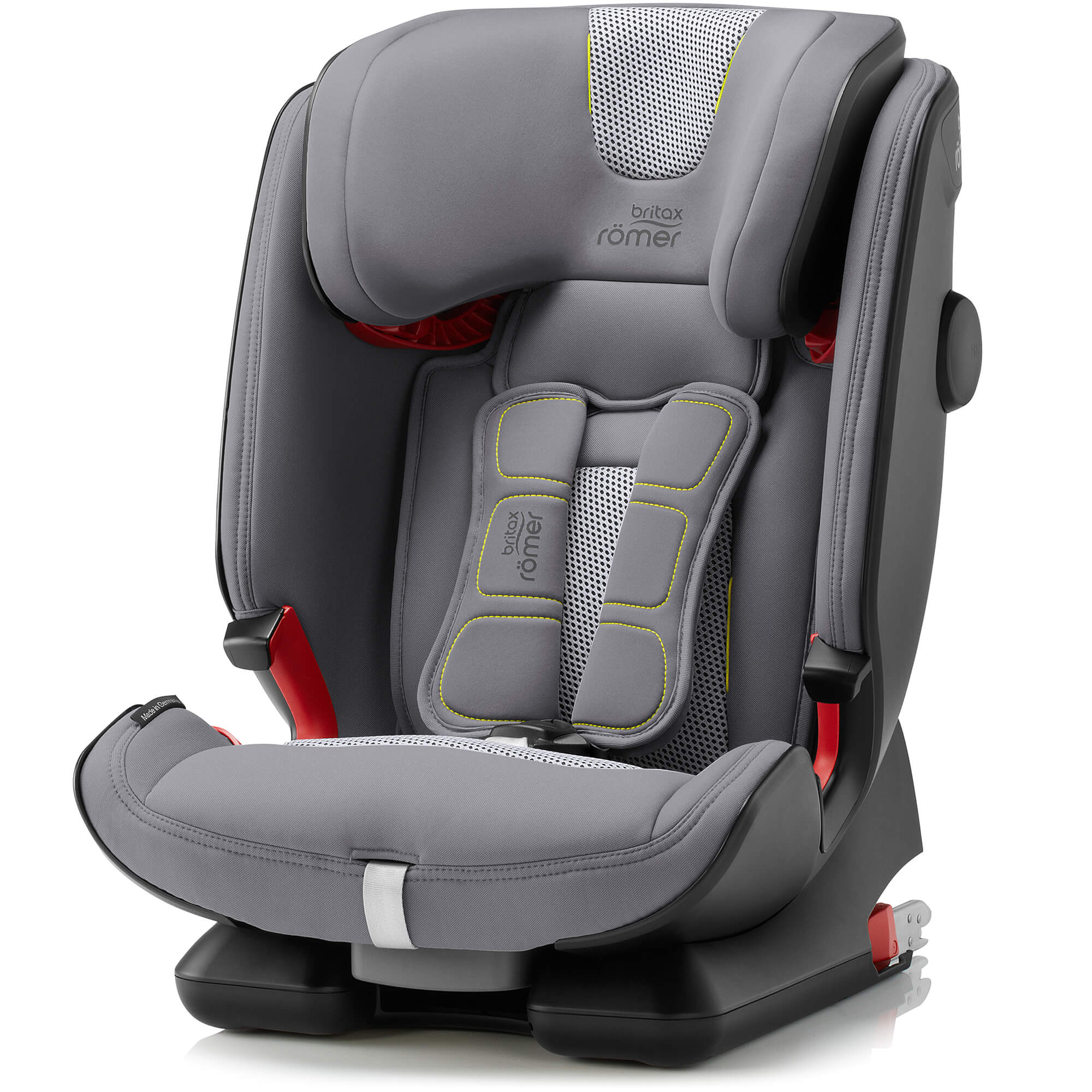 952459f61df Tap to expand · Britax Römer Advansafix IV R - Air Silver - child seat  group 1-2- Britax Römer Advansafix ...