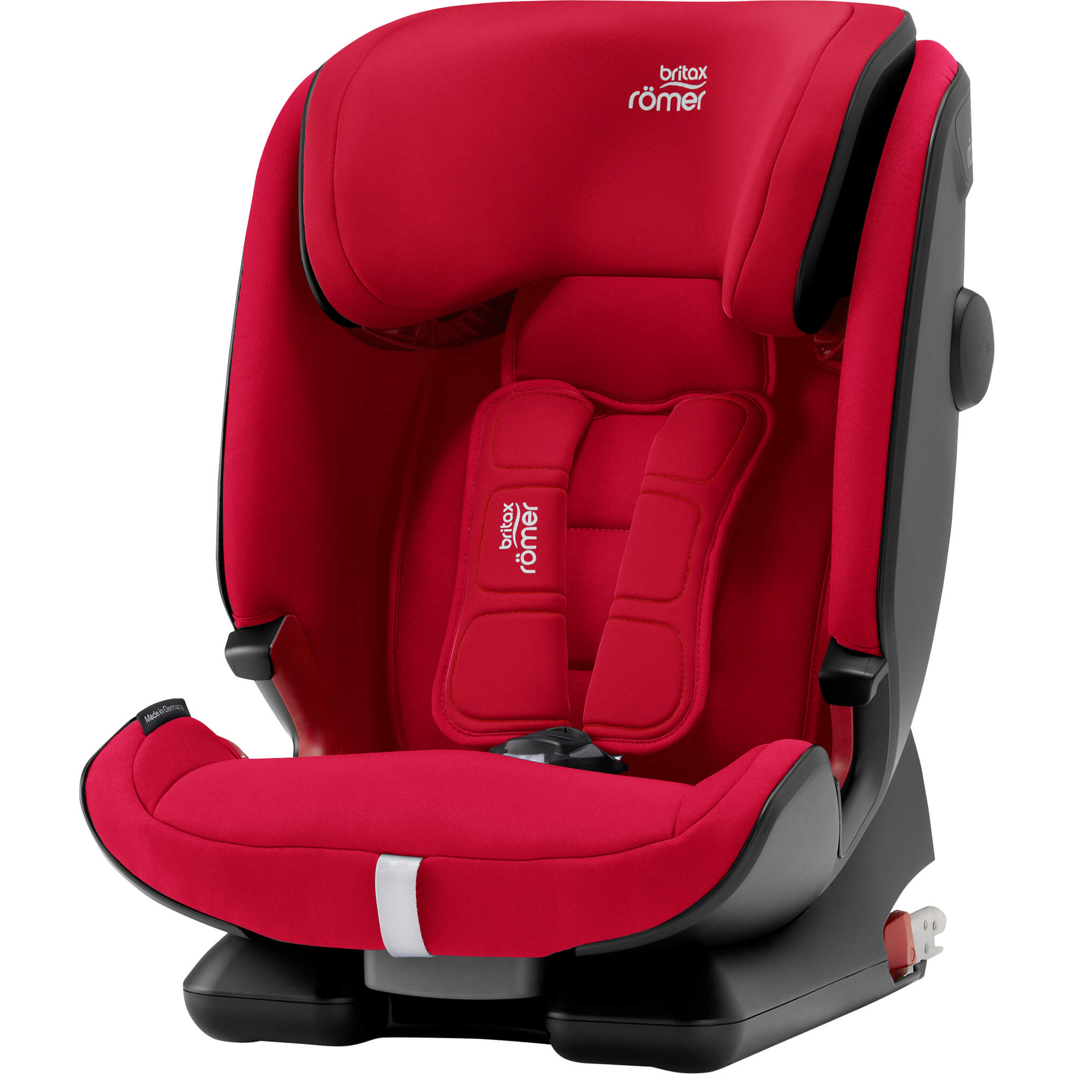 7cc2f319a6a Britax Römer Advansafix IV R - Fire Red - Child Seat group 1-2-3