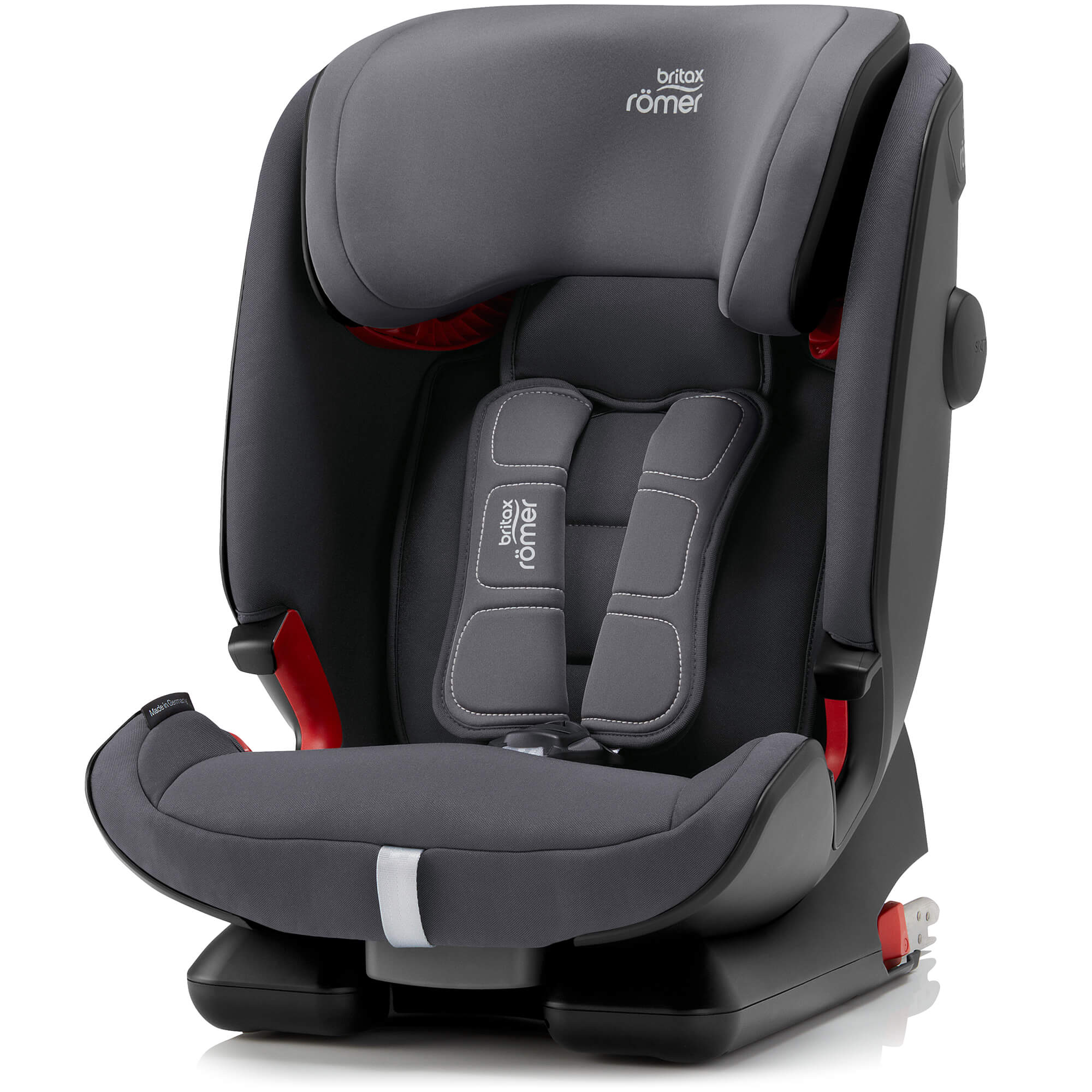 britax r mer advansafix iv r storm grey child seat. Black Bedroom Furniture Sets. Home Design Ideas