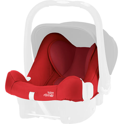britax r mer baby safe plus shr ii seat cover flame red. Black Bedroom Furniture Sets. Home Design Ideas