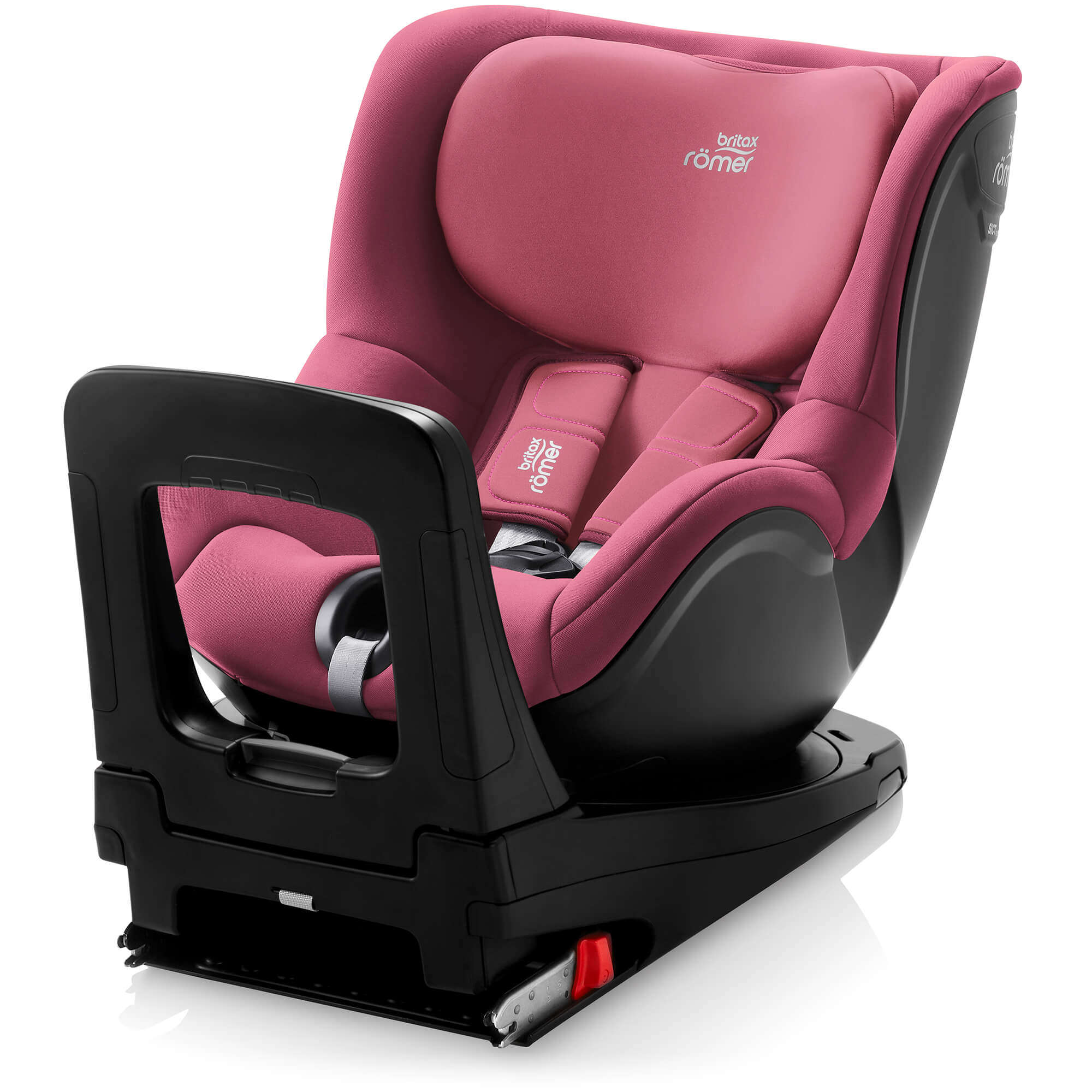 britax r mer dualfix m i size wine rose reboard child seat. Black Bedroom Furniture Sets. Home Design Ideas