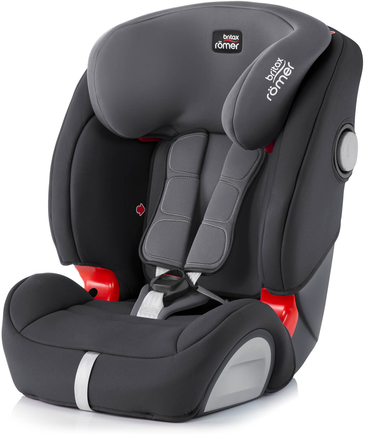 britax r mer evolva 1 2 3 sl sict storm grey child car. Black Bedroom Furniture Sets. Home Design Ideas