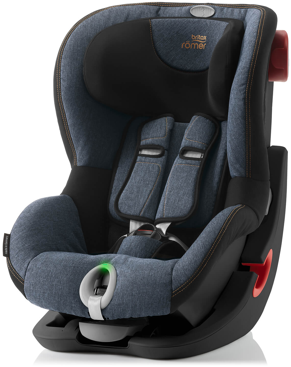 britax r mer king ii ls black edition blue marble kindersitz. Black Bedroom Furniture Sets. Home Design Ideas