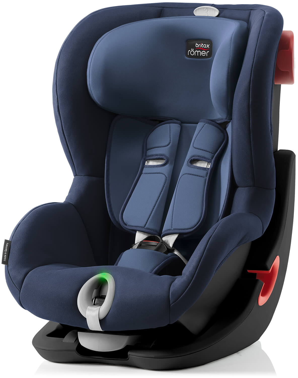 britax r mer king ii ls black edition moonlight blue child car seat 2018. Black Bedroom Furniture Sets. Home Design Ideas