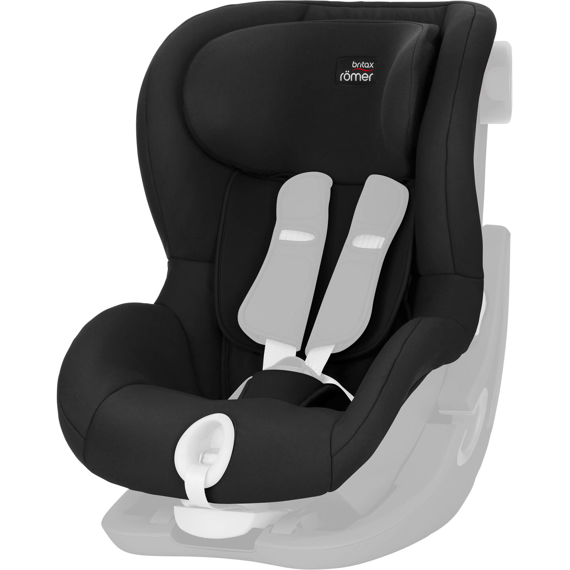 britax r mer king ii ls und ats ersatzbezug cosmos black. Black Bedroom Furniture Sets. Home Design Ideas