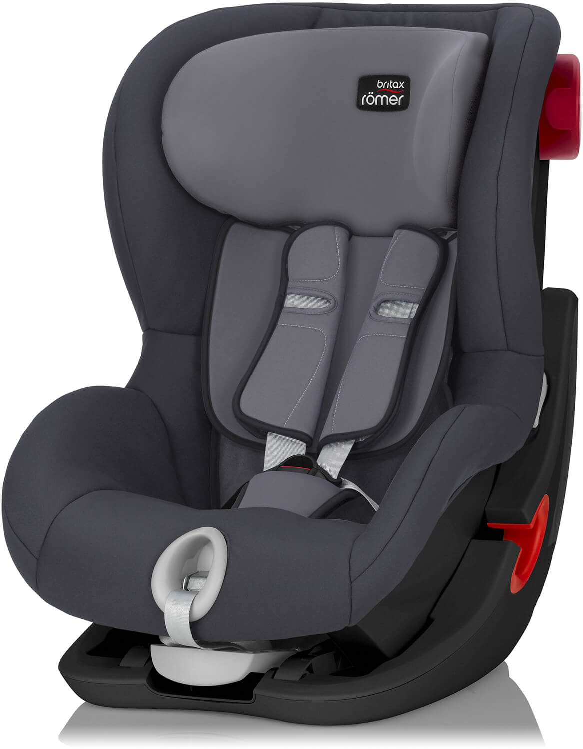 britax r mer king ii storm grey black edition kindersitz. Black Bedroom Furniture Sets. Home Design Ideas