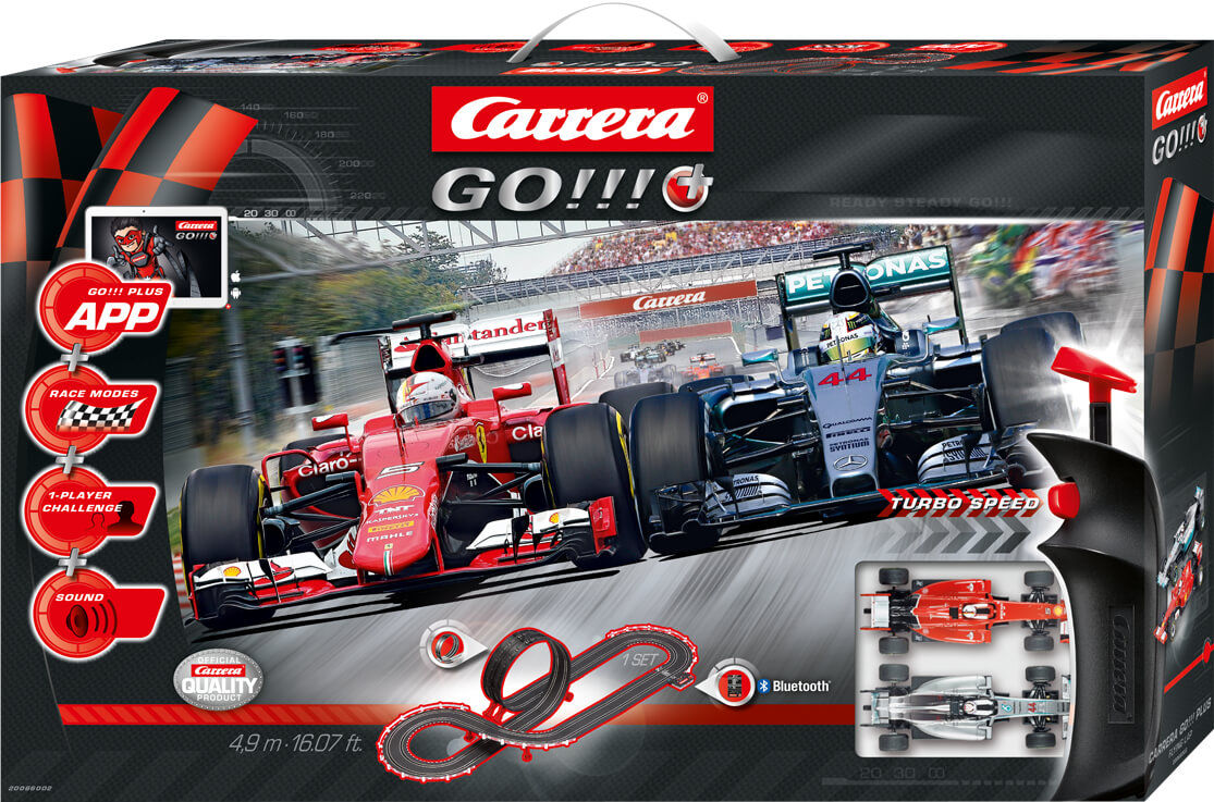 carrera go plus flying lap 20066002 racetrack set with. Black Bedroom Furniture Sets. Home Design Ideas