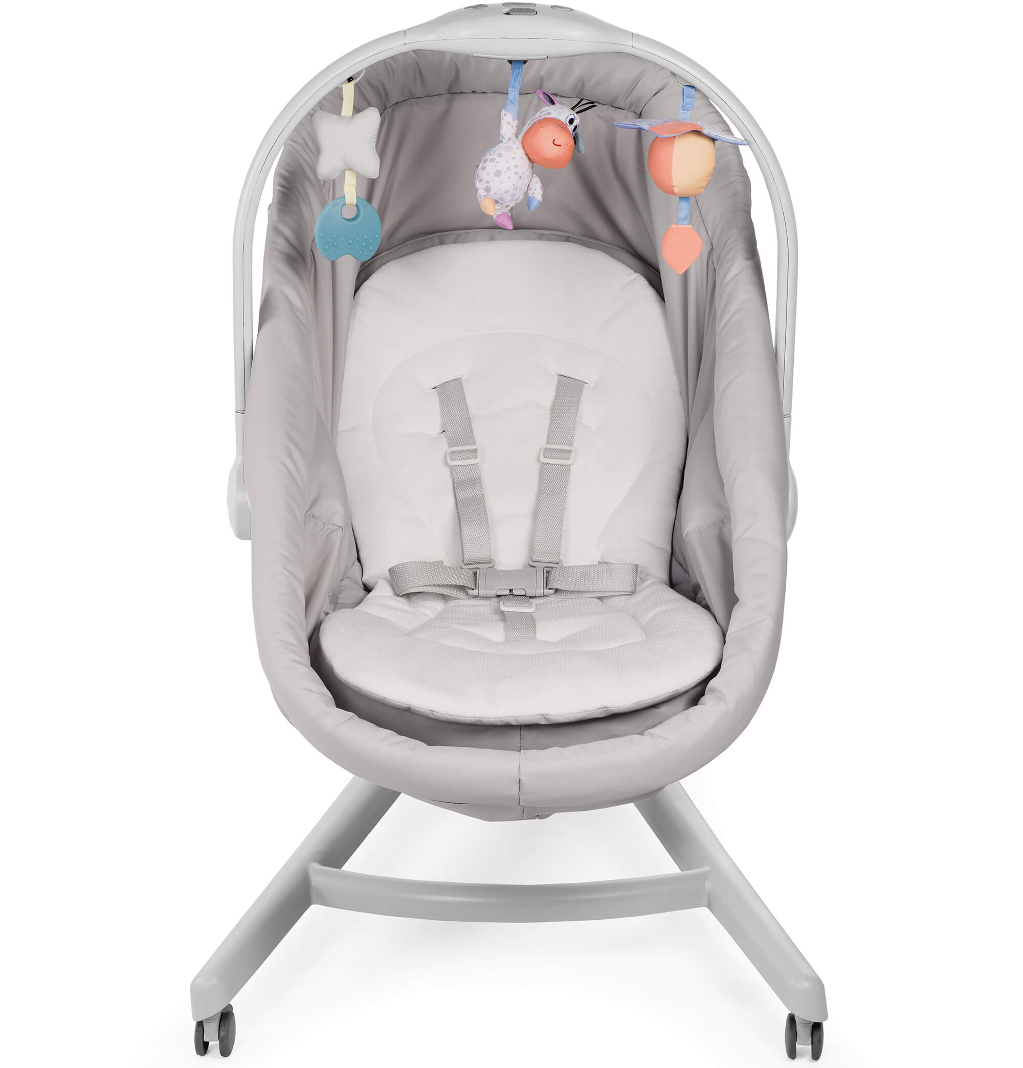 Chicco BABY HUG 4 In 1 AQUARELLE Bassinet, Reclining, High