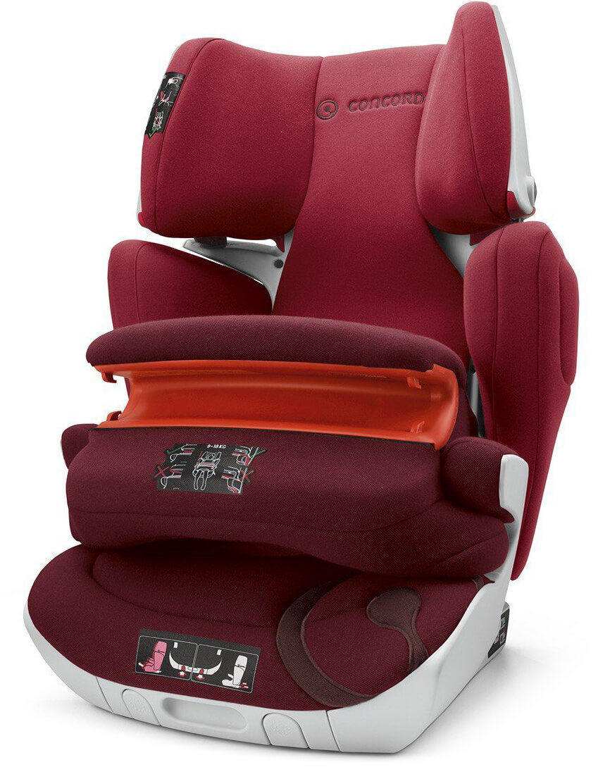 concord transformer xt pro ruby red child seat. Black Bedroom Furniture Sets. Home Design Ideas