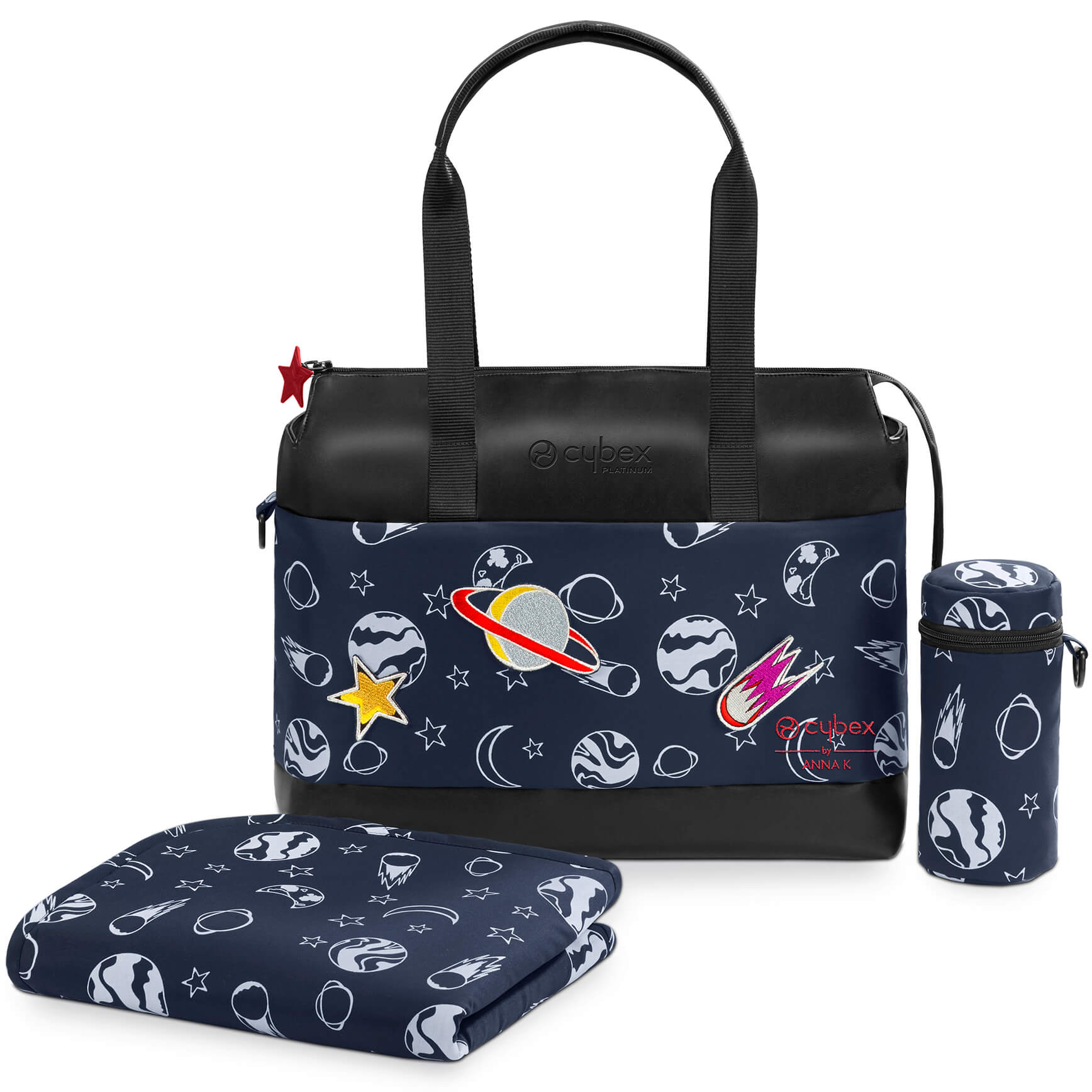8f034880aeb8 Cybex Priam Changing Bag - Space Rocket navy blue by Anna K. Tap to expand