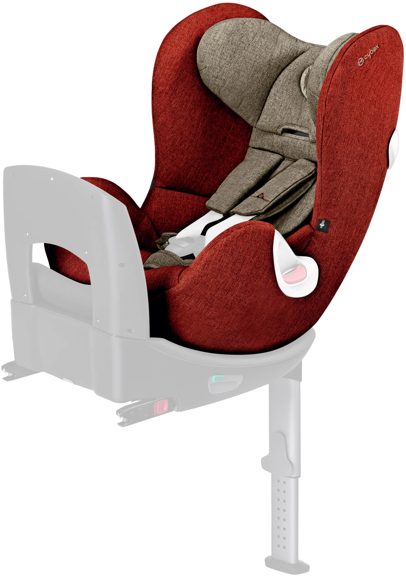 cybex sirona plus seat cover autumn gold burnt red. Black Bedroom Furniture Sets. Home Design Ideas