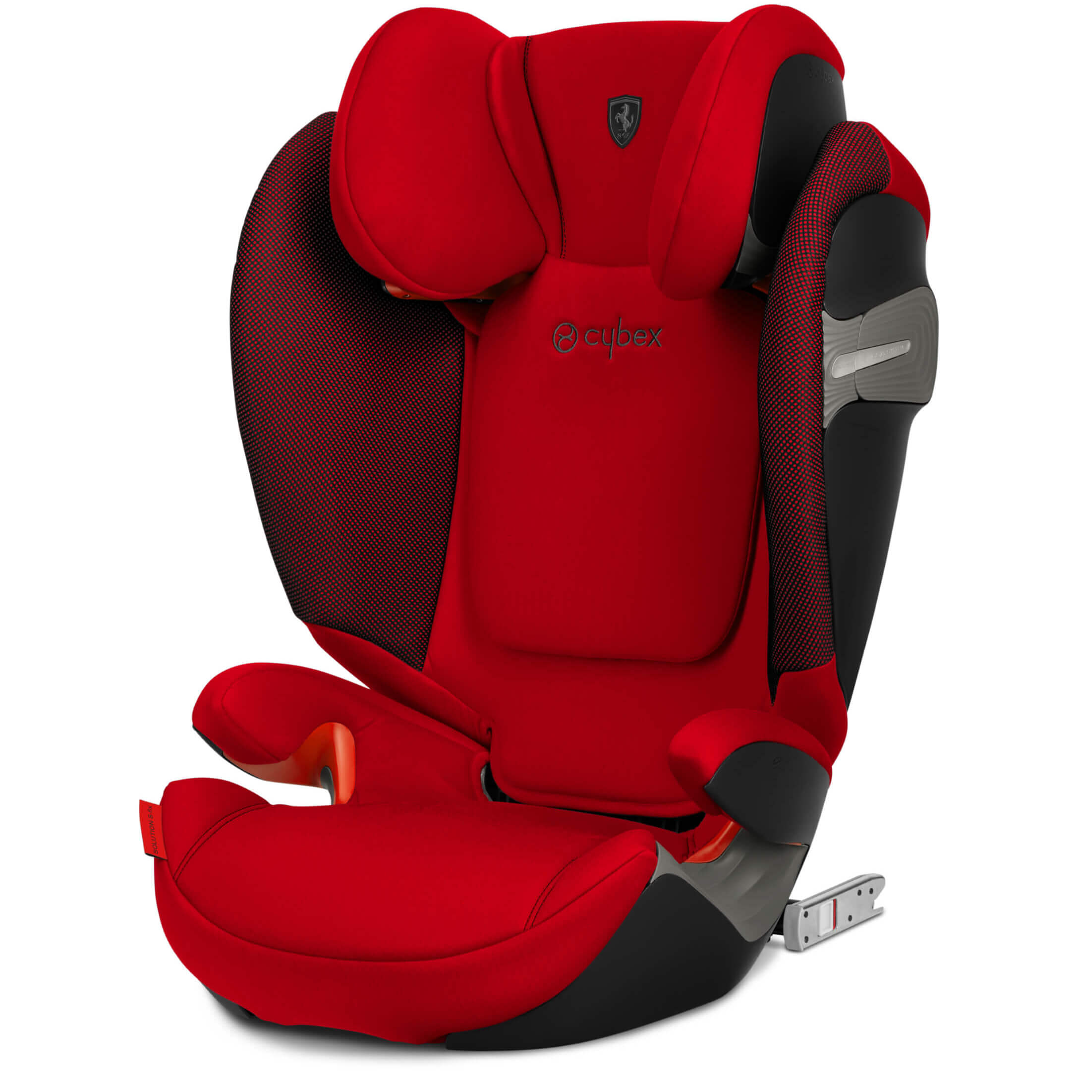 Cybex Solution S,Fix , Racing Red , Scuderia Ferrari Edition Child Seat  Group II/III