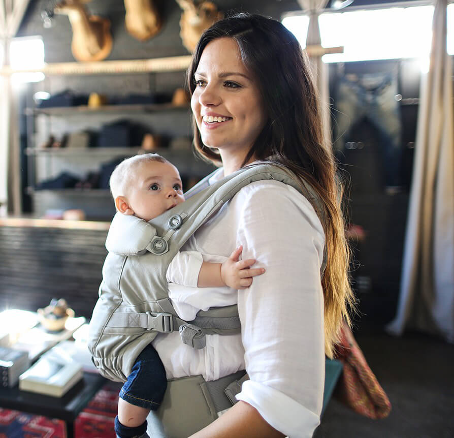Ergobaby Adapt Pearl Grey Baby Carrier