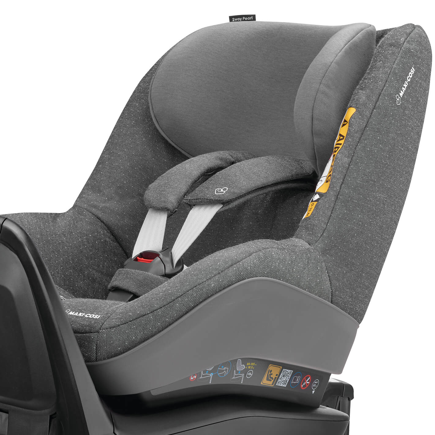 maxi cosi 2waypearl seat cover sparkling grey. Black Bedroom Furniture Sets. Home Design Ideas
