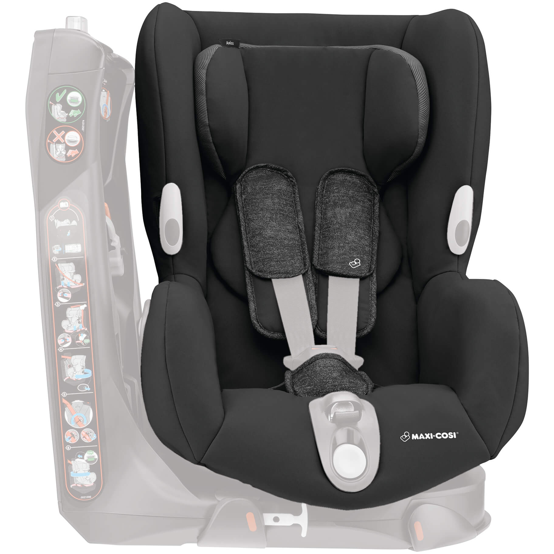 maxi cosi axiss complet cover nomad black. Black Bedroom Furniture Sets. Home Design Ideas