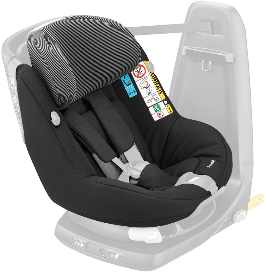 maxi cosi axissfix seat cover black raven. Black Bedroom Furniture Sets. Home Design Ideas