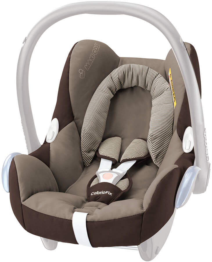 maxi cosi cabriofix seat cover 2016 earth brown. Black Bedroom Furniture Sets. Home Design Ideas
