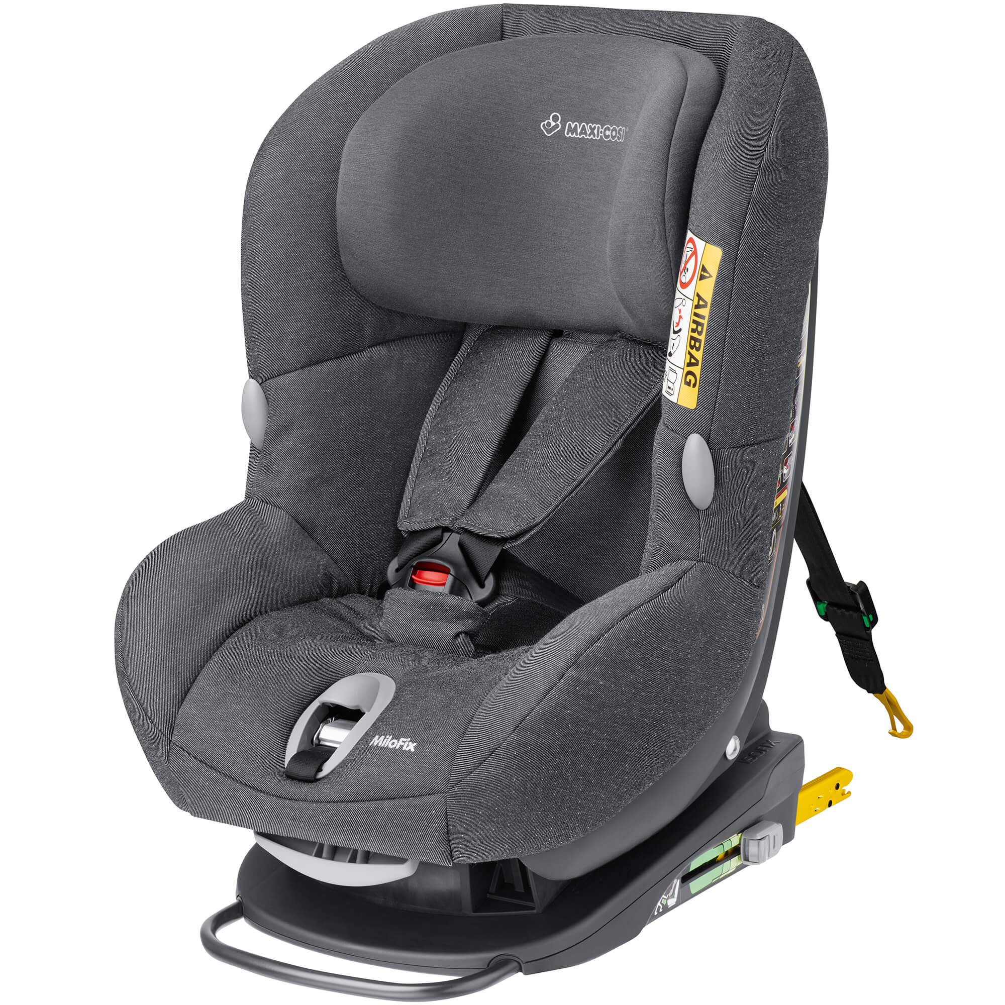 maxi cosi milofix reboard child seat group 1 2 3 sparkling grey. Black Bedroom Furniture Sets. Home Design Ideas
