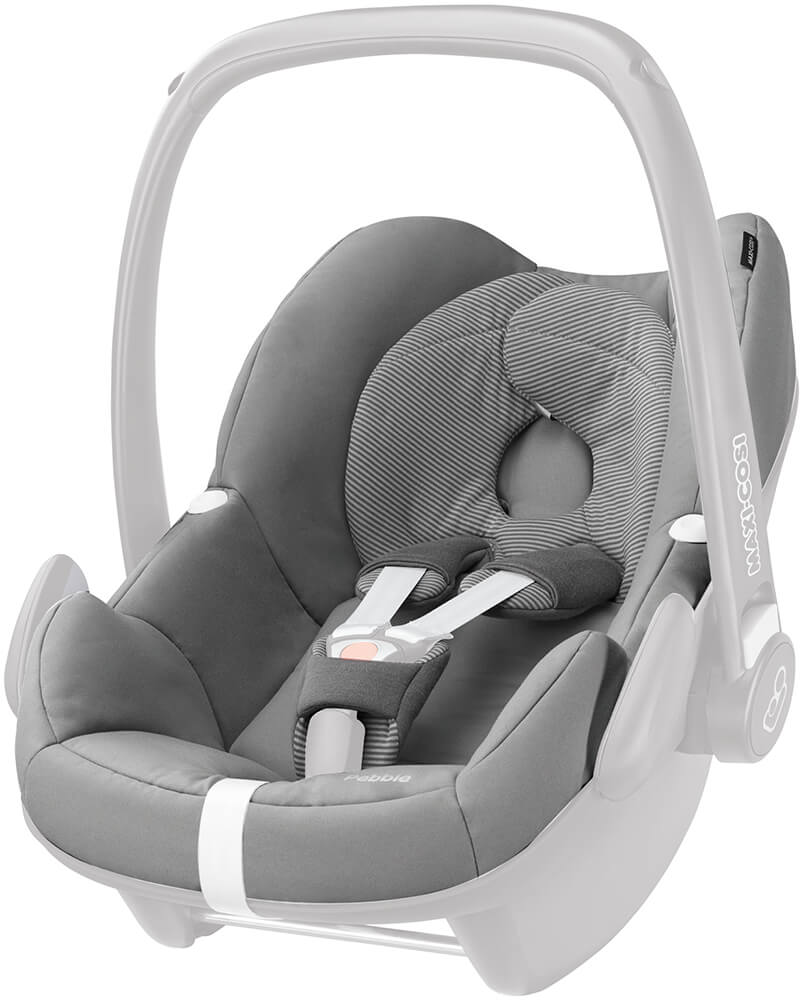 maxi cosi pebble seat cover set concrete grey. Black Bedroom Furniture Sets. Home Design Ideas