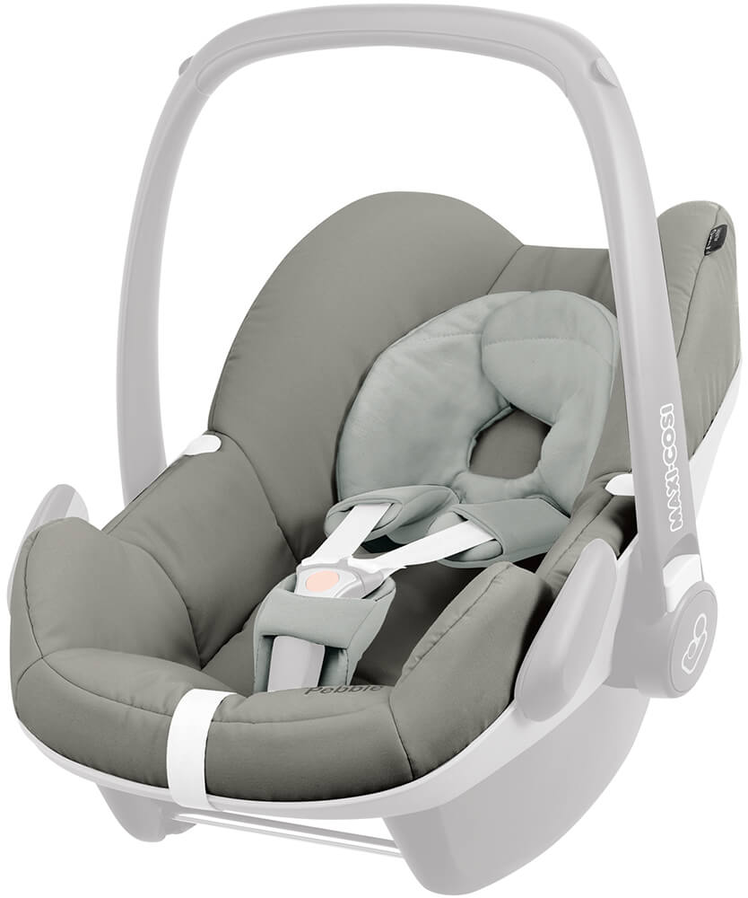 maxi cosi pebble seat cover set grey gravel. Black Bedroom Furniture Sets. Home Design Ideas