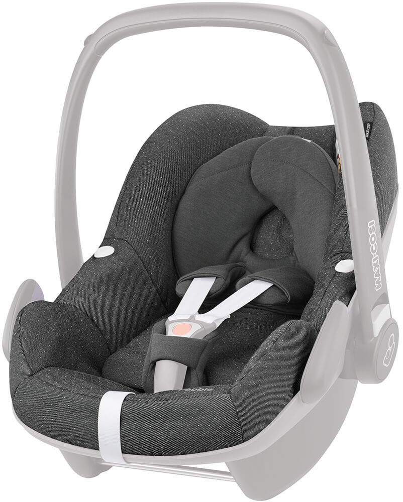 maxi cosi pebble seat cover set sparkling grey. Black Bedroom Furniture Sets. Home Design Ideas
