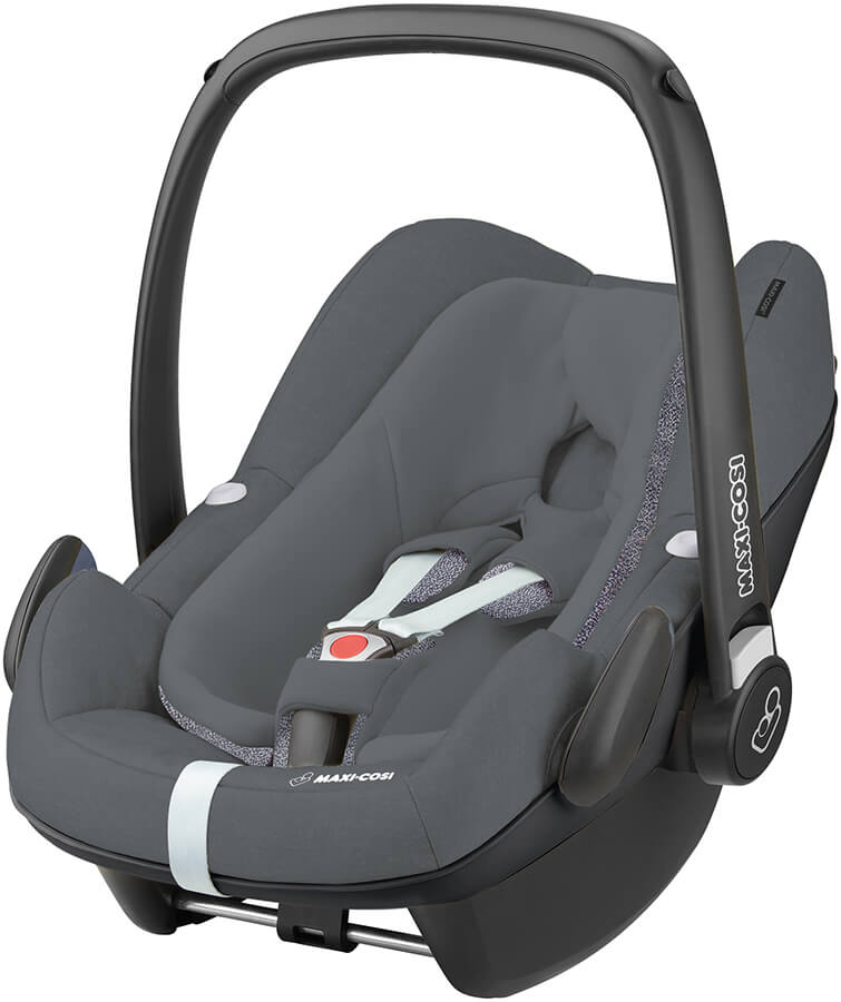 maxi cosi pebble plus graphite i size babyschale quinny design 2018. Black Bedroom Furniture Sets. Home Design Ideas