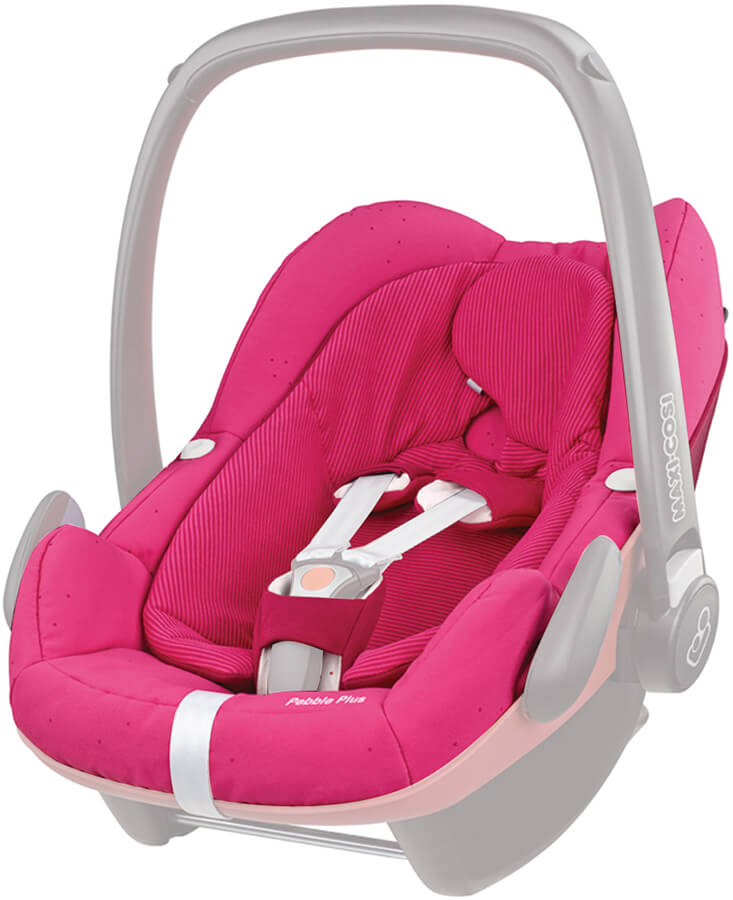 Maxi Cosi Pebble plus Seat Cover Berry Pink
