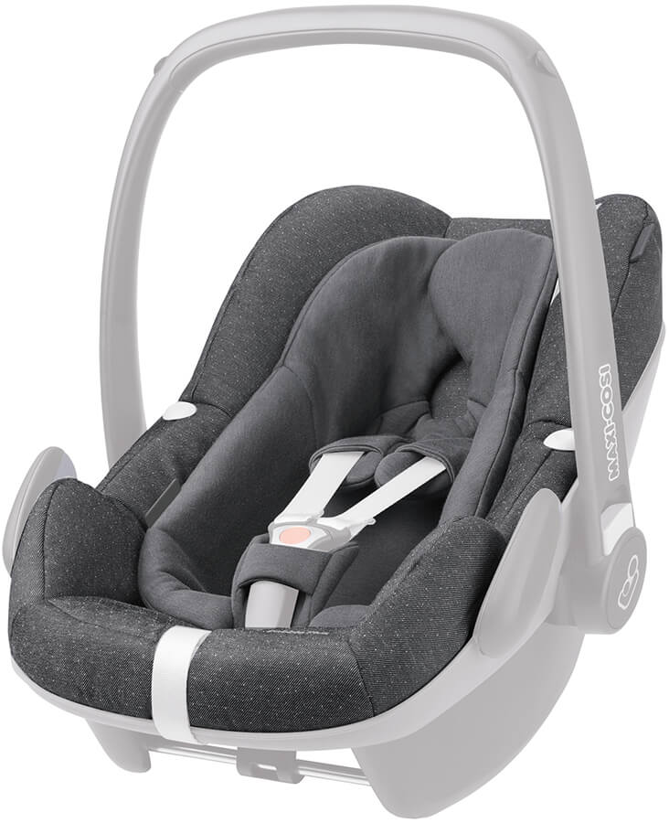 maxi cosi pebble plus seat cover sparkling grey 2016. Black Bedroom Furniture Sets. Home Design Ideas
