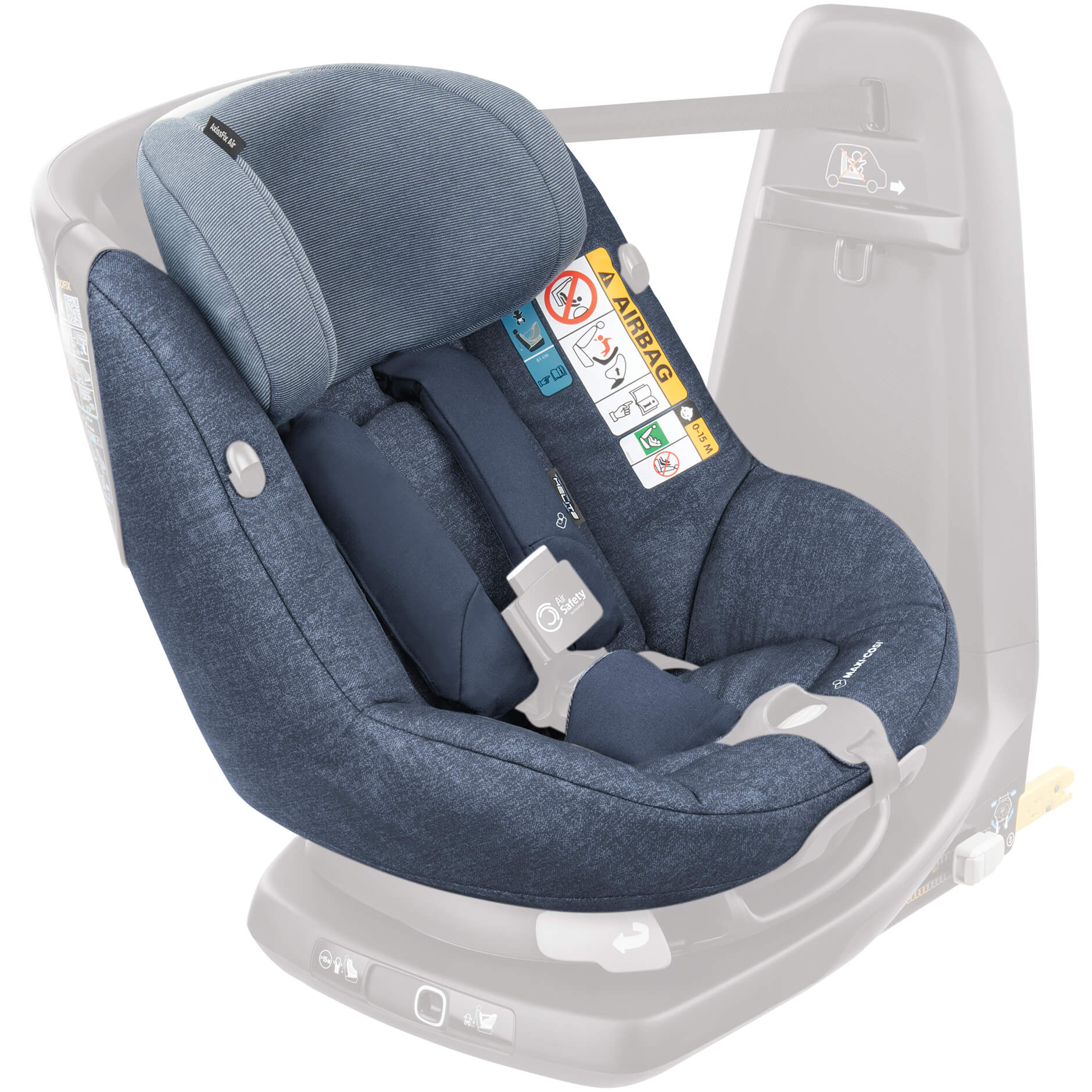 Maxi Cosi Seat Cover Nomad Blue For Axissfix Air Child