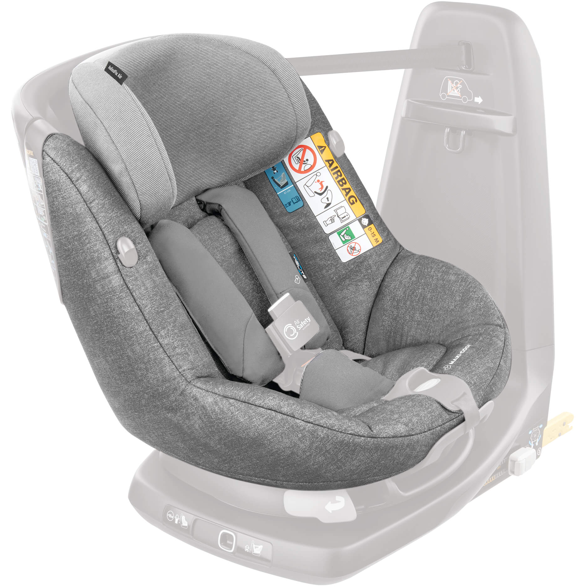 Pleasant Maxi Cosi Seat Cover Nomad Grey For Axissfix Air Child Seat Andrewgaddart Wooden Chair Designs For Living Room Andrewgaddartcom