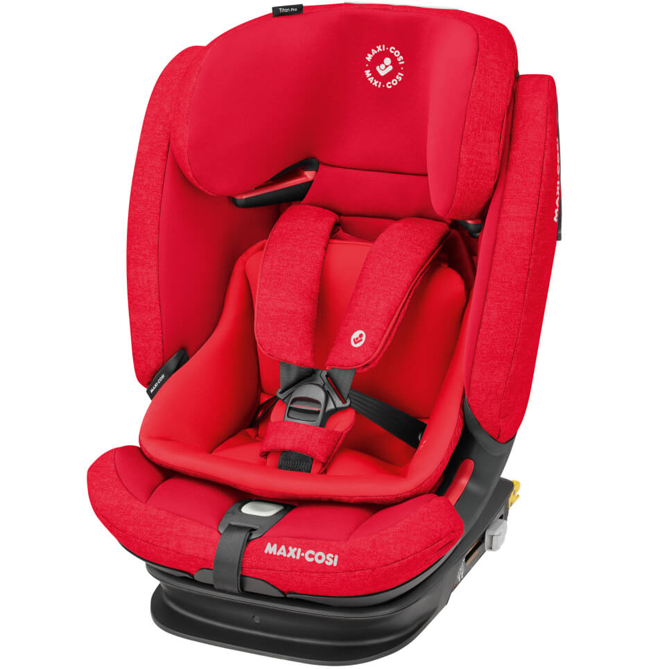 maxi cosi titan pro child seat group 1 2 3 nomad red. Black Bedroom Furniture Sets. Home Design Ideas