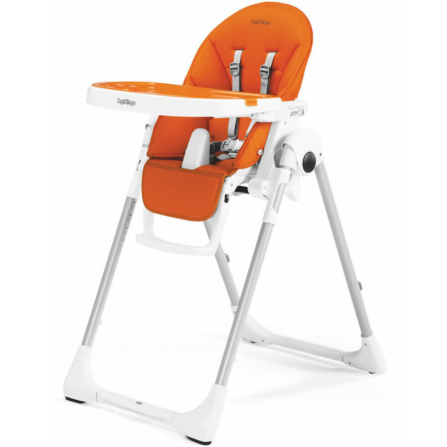 Remarkable Peg Perego Prima Pappa Zero3 Arancia Imitation Leather High Chair Cradle And Chair Dailytribune Chair Design For Home Dailytribuneorg