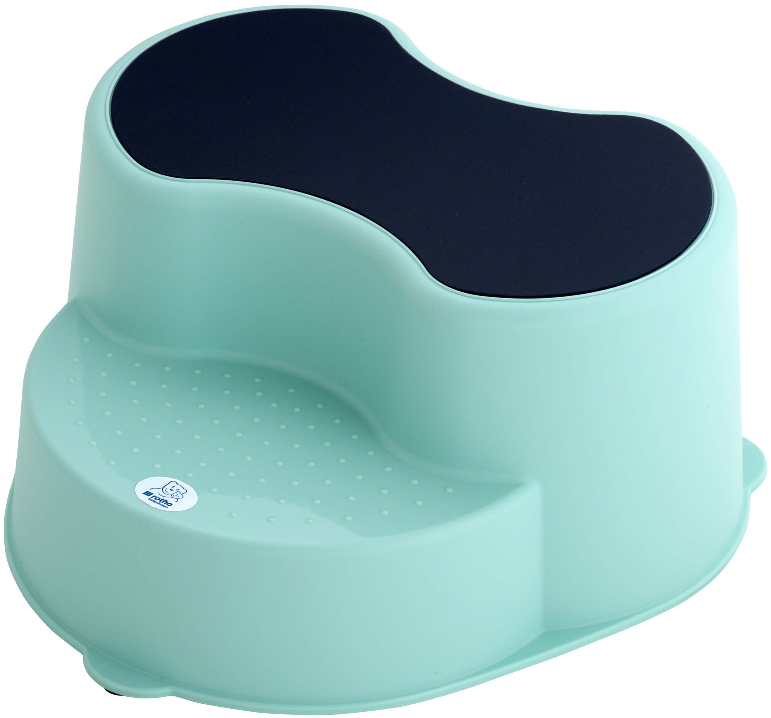 Excellent Rotho Top Kids Footstool 2 Step Swedish Green Onthecornerstone Fun Painted Chair Ideas Images Onthecornerstoneorg
